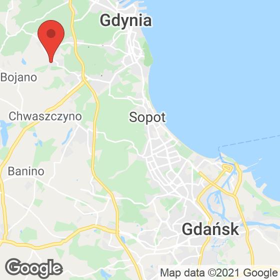 Mapa lokaliacji Wiczlino-Ogród