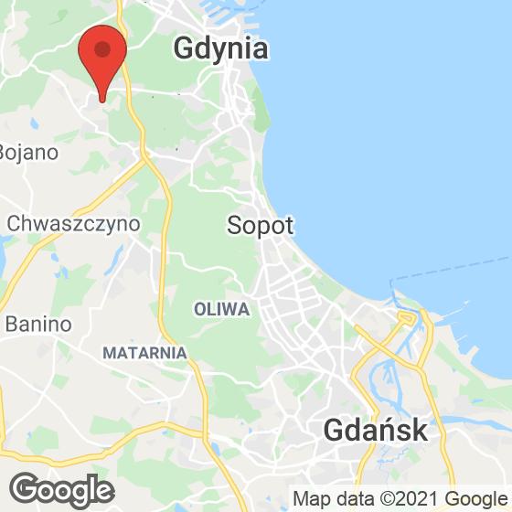 Mapa lokaliacji Sokółka Zielenisz