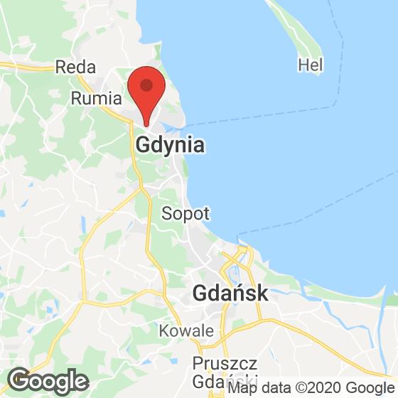 Mapa lokaliacji Gardenia