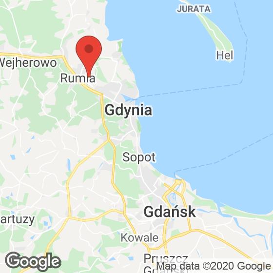 Mapa lokaliacji Osiedle przy Błoniach